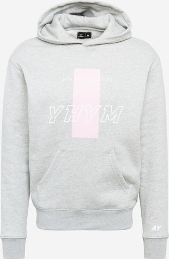 ABOUT YOU x Mero Sweatshirt 'YHYM' i grå, Produktvisning