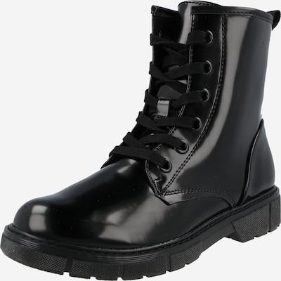 MARCO TOZZI Schnürstiefelette in schwarz, Produktansicht