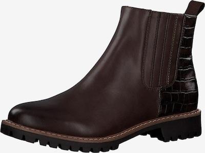 s.Oliver Chelsea boots in de kleur Karamel / Donkerbruin, Productweergave