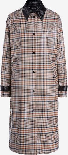 SET Mantel in beige / hellbraun / rot / schwarz, Produktansicht