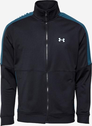 UNDER ARMOUR Sportjacke 'Sportstyle' in blau / schwarz / weiß, Produktansicht