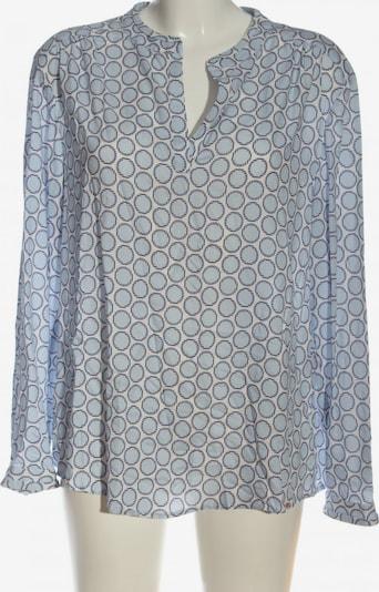 Unique Blusenshirt in L in blau / weiß, Produktansicht
