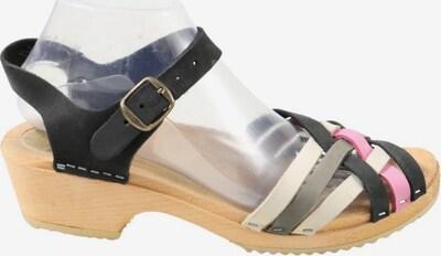 Gudrun Sjödén Riemchen-Sandaletten in 39 in pink / schwarz / weiß, Produktansicht