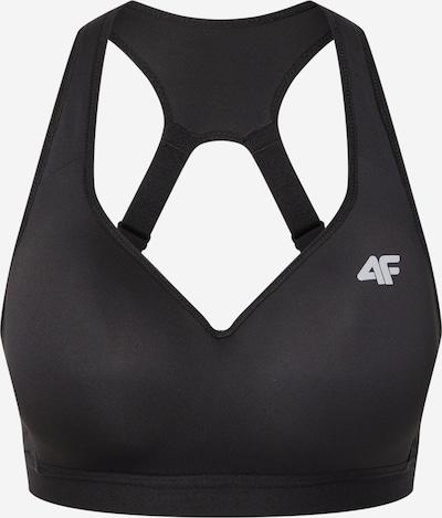 4F Спортен сутиен в сребърно сиво / черно, Преглед на продукта