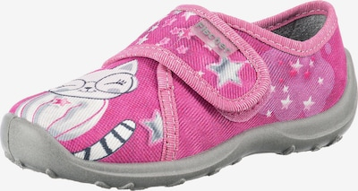 Fischer-Markenschuh Schuh in grau / pink / weiß, Produktansicht