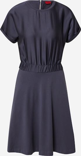 HUGO Robe 'Namastia' en bleu foncé, Vue avec produit