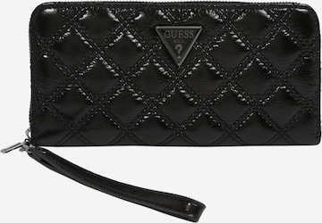 GUESS Portemonnaie 'CESSILY' in Black