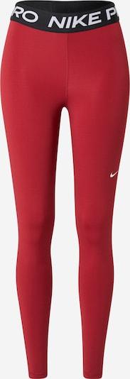 NIKE Športne hlače | rdeča / črna / bela barva, Prikaz izdelka