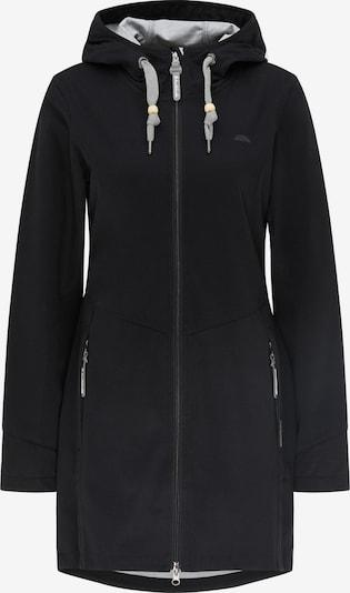 Schmuddelwedda Functionele mantel in de kleur Zwart, Productweergave