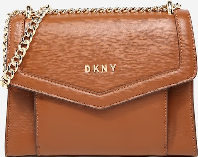 DKNY Sac à bandoulière 'POLLY' en beige foncé, Vue avec produit