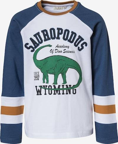 myToys-COLLECTION Shirt in dunkelblau / braun / grün / weiß, Produktansicht