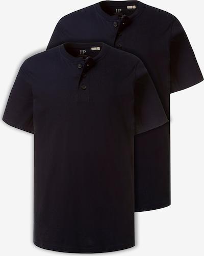 JP1880 Henley-Shirt in navy, Produktansicht