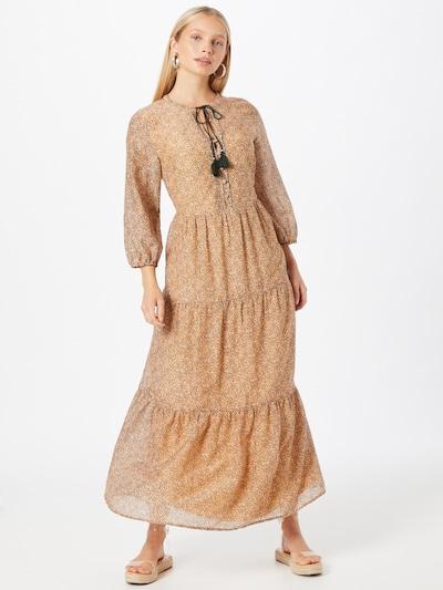 Suknelė iš s.Oliver BLACK LABEL, spalva – mišrios spalvos / šviesiai oranžinė / juoda / balta, Modelio vaizdas