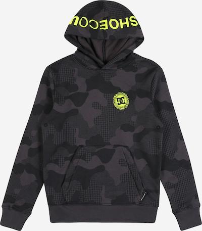 DC Shoes Sportsweatshirt 'SNOWSTAR' in greige / oliv / schwarz, Produktansicht