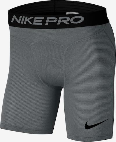 NIKE Unterwäsche in graumeliert / schwarz, Produktansicht