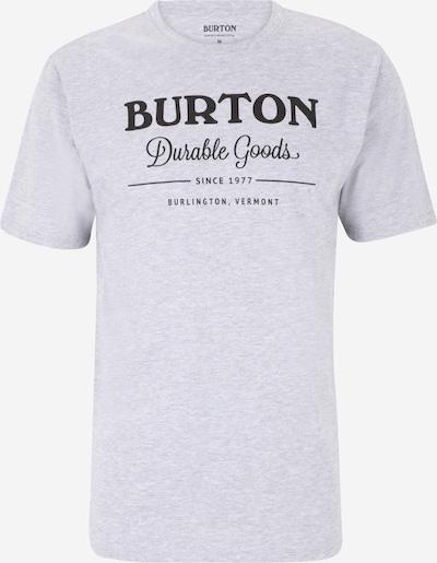 BURTON T-Shirt 'Durable Goods' in grau / schwarz, Produktansicht