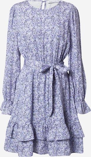 Suknelė iš NU-IN, spalva – mėlyna dūmų spalva / opalo / melsvai pilka / balta: Vaizdas iš priekio
