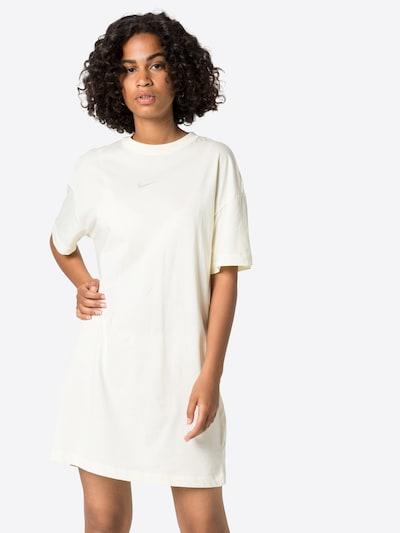 Nike Sportswear Kleid in creme / grau, Modelansicht