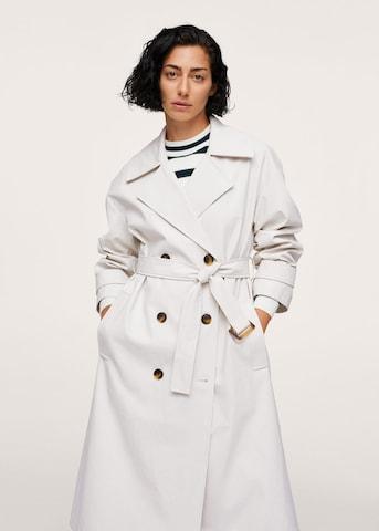 MANGOPrijelazni kaput 'Marta' - bijela boja