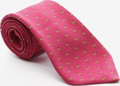 HERMÈS Krawatte in One Size in gelb / rot, Produktansicht