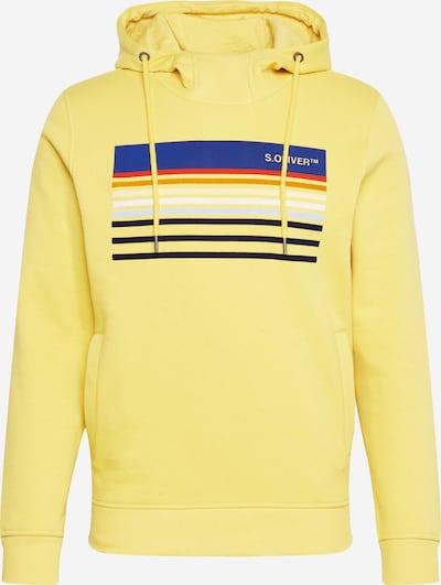 s.Oliver Sweatshirt i ljusgul / blandade färger, Produktvy
