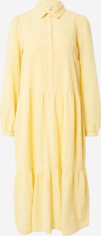 Abito camicia di EDC BY ESPRIT in giallo
