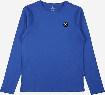 NAME IT Shirt 'FREY' in royalblau / schwarz / weiß, Produktansicht