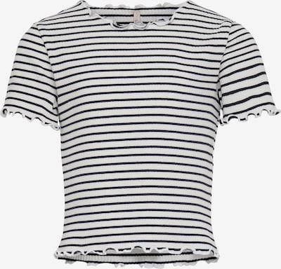 KIDS ONLY Shirt 'KONGILA' in dunkelblau / weiß, Produktansicht