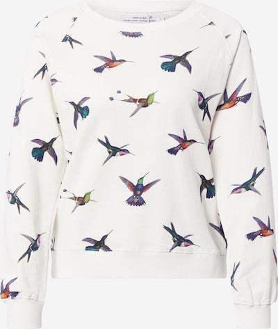 DEDICATED. Sweatshirt in mischfarben / schwarz / offwhite, Produktansicht