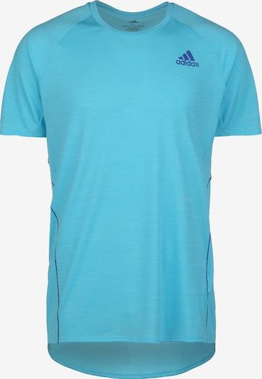 ADIDAS PERFORMANCE Laufshirt in royalblau / hellblau, Produktansicht