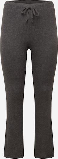 Pantaloni 'CIRCLE' PIECES Curve pe gri închis, Vizualizare produs