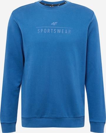 4F Športová mikina - Modrá