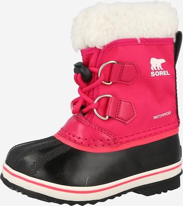 SOREL Snowboots 'YOOT PAC' in Pink