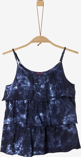 s.Oliver Junior Top in nachtblau / hellblau, Produktansicht