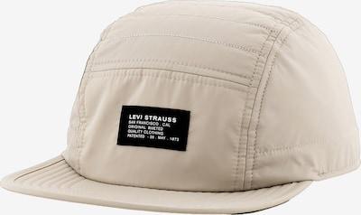 LEVI'S Cap '5 Panel Puffer Cap' in creme, Produktansicht