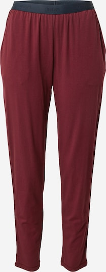 JOOP! Bodywear Pajama pants in Navy / Wine red, Item view