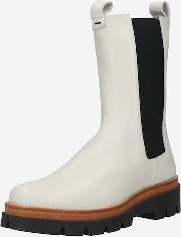 Donna Carolina Boots in White