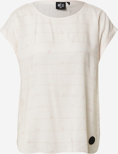 Tricou 'WINE OF LOVE' WLD pe roz / alb, Vizualizare produs