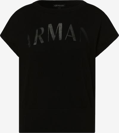 ARMANI EXCHANGE Pullover in schwarz, Produktansicht