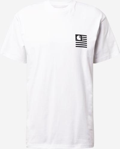Carhartt WIP Tričko 'Wavy State' - čierna / biela, Produkt