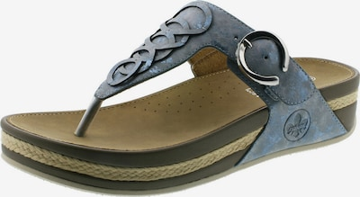 RIEKER T-bar sandals in Dusty blue, Item view