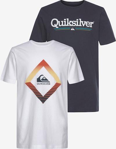 QUIKSILVER T-Shirt in schwarz / weiß, Produktansicht
