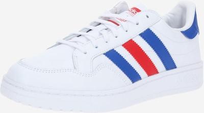 ADIDAS ORIGINALS Sneaker 'Team Court' in royalblau / rot / weiß, Produktansicht