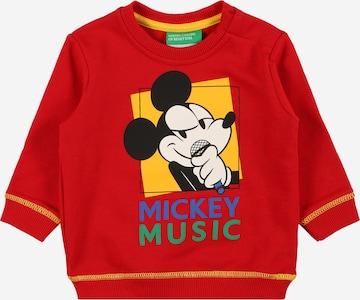 UNITED COLORS OF BENETTONSweater majica - crvena boja