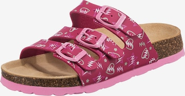 SUPERFIT Slippers in Pink