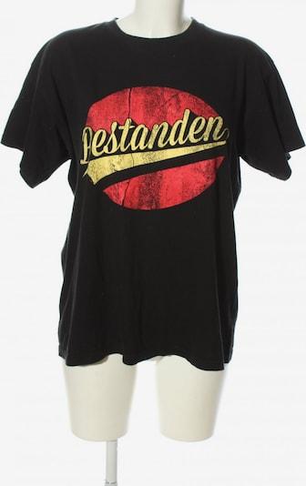 BC Fashion T-Shirt in M in pastellgelb / rot / schwarz, Produktansicht