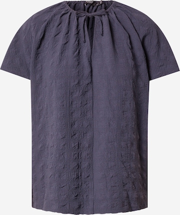 SOAKED IN LUXURY Bluse 'Arjana' in Blau