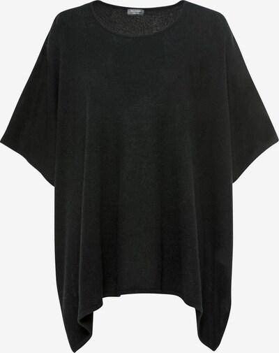 HALLHUBER Poncho in schwarz, Produktansicht