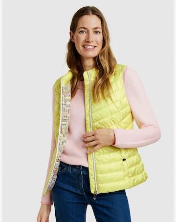 GERRY WEBER Vest in Yellow