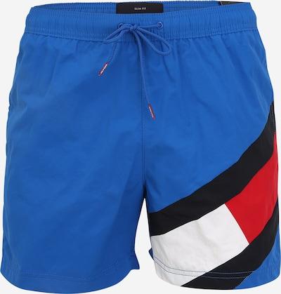 Tommy Hilfiger Underwear Plavecké šortky - tmavomodrá / kráľovská modrá / červená / biela, Produkt